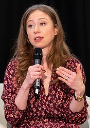 © Licensed to London News Pictures. 01/06/2018. London, UK. CHELSEA CLINTON talks about her new picture book, She Persisted Around The World, at the Stoke Newington Literary Festival. Photo credit: Ray Tang/LNP