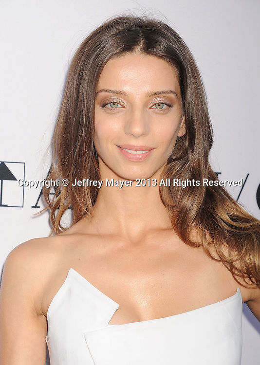 LOS ANGELES, CA- AUGUST 08: Actress Angela Sarafyan arrives at the 'Paranoia' - Los Angeles Premiere at DGA Theater on August 8, 2013 in Los Angeles, California.