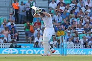Wicketkeeper Jos Buttler of England  during the third day of the 5th Investec Ashes Test match between England and Australia at The Oval, London, United Kingdom on 22 August 2015. Photo by Ellie Hoad.