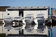 Fairline luxury motor boats company, Ipswich, Suffolk, England