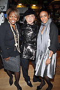 l to r: Judy Ward, Robert and Keisha Clark at The 2009 NV Awards: A Salute to Urban Professionals sponsored by Hennessey held at The New York Stock Exchange on February 27, 2009 in New York City. ....