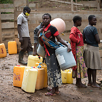 Near Butembo this community had a reservoir and water system built by IMA and Tearfund. Clean water for drinking underpins health initiatives, and during the Ebola crisis in North Kivu IMA pushed to strengthen the foundations of preventative health care in the region.