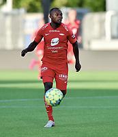 Fotball , 2. juli 2020 , Eliteserien , Sarpsborg 08 - Brann<br /> <br /> Gilbert Koomson , Brann