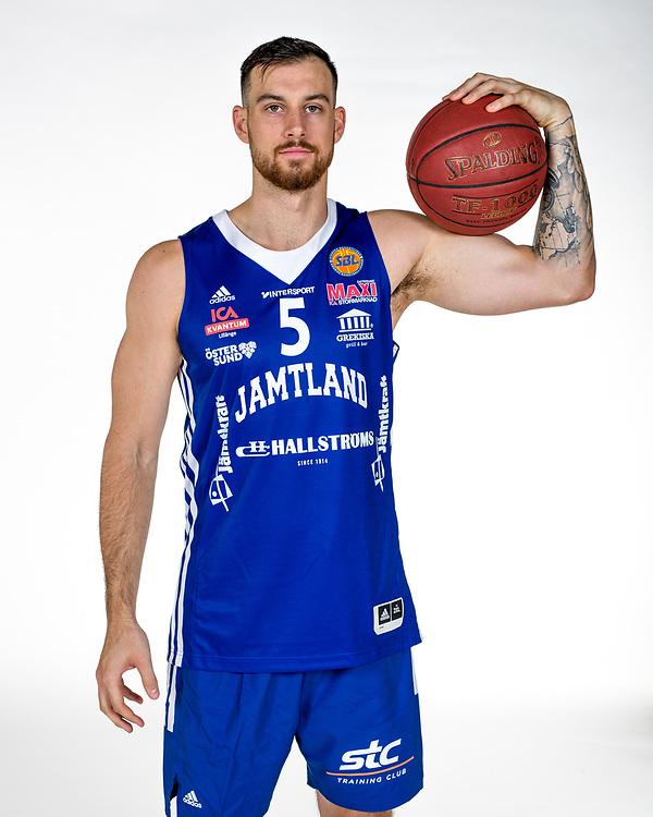 ÖSTERSUND 210906<br /> Steve Harris - Jämtland Basket 2021-2022<br /> <br /> Foto: Per Danielsson/Projekt.P