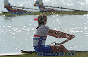 St Catherines, CANADA,  GBR W2-, Bow Dot BLACKIE and Cath BISHOP,  competing at the 1999 World Rowing Championships - Martindale Pond, Ontario. 08.1999..[Mandatory Credit; Peter Spurrier/Intersport-images]   ...St Catherines, CANADA,  GBR W2-, Bow Dot BLACKIE and Cath BISHOP,  competing at the 1999 World Rowing Championships - Martindale Pond, Ontario. 08.1999..[Mandatory Credit; Peter Spurrier/Intersport-images]   ... 1999 FISA. World Rowing Championships, St Catherines, CANADA