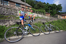 Spectators during 1st stage of the 15th Tour de Slovenie from Ljubljana to Postojna (161 km) , on June 11,2008, Slovenia. (Photo by Vid Ponikvar / Sportal Images)/ Sportida)