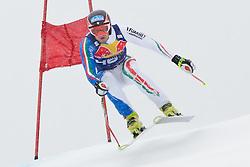 20.01.2011, Hahnenkamm, Kitzbuehel, AUT, FIS World Cup Ski Alpin, Men, Training, im Bild // Stefan Thanei (ITA) // during the men´s downhill training run at the FIS Alpine skiing World cup in Kitzbuehel, EXPA Pictures © 2011, PhotoCredit: EXPA/ S. Zangrando