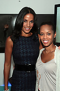 14 September 2010-New York, NY- l to r: Crystal McCrary and Lisa Sorensen at The Jones Awards Celebrating Diversity in Fashion and Beauty Present by ' My Black Is Beautiful ' and held at The Alvin Ailey Citigroup Theater on September 14, 2010 in New York City. Photo Credit: Terrence Jennings