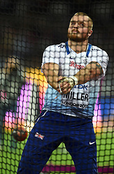 Nick Miller of Great Britain in action - Mandatory byline: Patrick Khachfe/JMP - 07966 386802 - 11/08/2017 - ATHLETICS - London Stadium - London, England - Men's Hammer Throw Final - IAAF World Championships