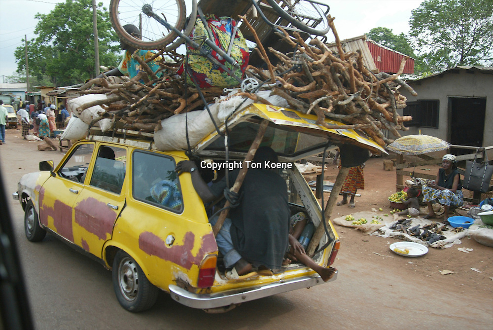 transport in Central African Republic