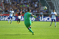 September 17, 2017 - Turin, Piedmont, Italy - Christian Puggioni (UC Sampdoria) during the Serie A football match between Torino FC and US Sampdoria at Olympic Grande Torino Stadium on 17 September, 2017 in Turin, Italy. (Credit Image: © Massimiliano Ferraro/NurPhoto via ZUMA Press)
