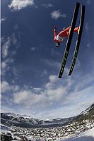 Hopp<br /> Hoppuka 2005/2006<br /> Foto: imago/Digitalsport<br /> NORWAY ONLY<br /> <br /> 31.12.2005  <br /> <br /> Sigurd Pettersen (Norwegen) fliegt ins Tal von Garmisch Partenkirchen