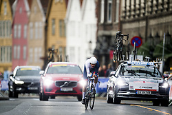 September 20, 2017 - Bergen, NORWAY - 170920 Christopher Froome of Great Britain competes during the Men Elite Individual Time Trial on September 20, 2017 in Bergen..Photo: Jon Olav Nesvold / BILDBYRN / kod JE / 160023 (Credit Image: © Jon Olav Nesvold/Bildbyran via ZUMA Wire)