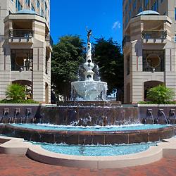 Reston Town Center Fountain  Northern Virginia