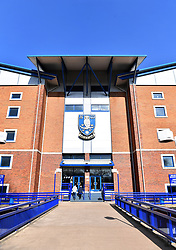 A general view of Hillsborough home of Sheffield Wednesday