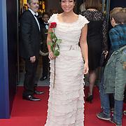NLD/Scheveningen/20151213 - Premiere musical Beauty and the Beast, Nurlaila Karim