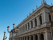 The Marciana Library or Library of Saint Mark is a public library in the Piazza San Marco, Venice, Italy. architect- Jacopo Sansovino