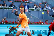 Rafael Nadal of Spain in action during the Mutua Madrid Open 2018, tennis match on May 10, 2018 played at Caja Magica in Madrid, Spain - Photo Oscar J Barroso / SpainProSportsImages / DPPI / ProSportsImages / DPPI