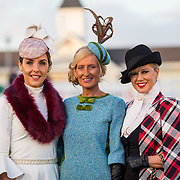 28.12.2016              <br /> The style stakes were high at Limerick Racecourse as ladies gathered for the Sunway Holidays Best Dressed Lady on Wednesday last. Breda Butler from Thurles in Co. Tipperary walked away with the top prize of a holiday for two people to Lanzarote.<br /> <br /> Pictured at the event were the top three finalists left to tight, 3rd place, Mamie Hayes, Castletroy, Limerick,  1st place, Breda Butler, Thurles Co. Tipperary and 2nd place was Grace Ryan, Bedford Row Limerick City. Picture: Alan Place