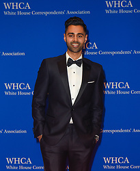 Host, comedian Hasan Minhaj arrives for the White House Correspondents' Association (WHCA) dinner in Washington, D.C., on Saturday, April 29, 2017 (Photo by Riccardo Savi)  *** Please Use Credit from Credit Field ***