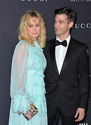 Alex Greenwald and Brie Larson attend the 2016 LACMA Art + Film Gala honoring Robert Irwin and Kathryn Bigelow presented by Gucci at LACMA on October 29, 2016 in Los Angeles, California. Photo by Lionel Hahn/AbacaUsa.com
