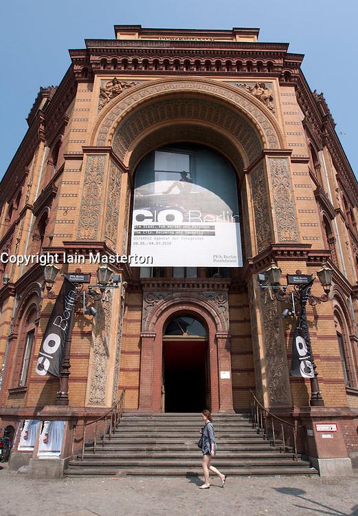 Exterior of C/O photography art gallery space on Oranienburger Strasse in Scheunenviertel Berlin Germany