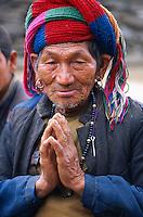 Nepal. Province de Nuwakot. Homme d'ethnie Tamang. // Nepal. Nuwakot province. Man from Tamang ethnie group.