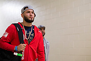 DALLAS, TX - MAY 13:  Jorge Masvidal arrives at the arena before his fight against Demian Maia during UFC 211 at the American Airlines Center on May 13, 2017 in Dallas, Texas. (Photo by Cooper Neill/Zuffa LLC/Zuffa LLC via Getty Images) *** Local Caption *** Jorge Masvidal