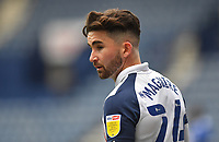 Preston North End's Sean Maguire<br /> <br /> Photographer Dave Howarth/CameraSport<br /> <br /> The EFL Sky Bet Championship - Preston North End v Cardiff City - Sunday 18th October 2020 - Deepdale - Preston<br /> <br /> World Copyright © 2020 CameraSport. All rights reserved. 43 Linden Ave. Countesthorpe. Leicester. England. LE8 5PG - Tel: +44 (0) 116 277 4147 - admin@camerasport.com - www.camerasport.com