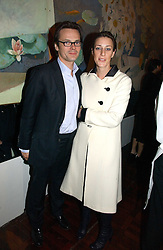 LUKE & ALICE IRWIN at a party to celebrate the publication of 'The year of Eating Dangerously' by Tom Parker Bowles held at Kensington Place, 201 Kensington Church Street, London on 12th october 2006.<br /><br />NON EXCLUSIVE - WORLD RIGHTS