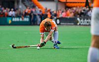 BLOEMENDAAL - Mats de Groot (Bldaal)    tijdens finale van de play-offs om de Nederlandse titel, Bloemendaal tegen titelhouder Kampong (1-2). Door de overwinning van Kampong volgt er zondag een derde wedstrijd.   COPYRIGHT KOEN SUYK