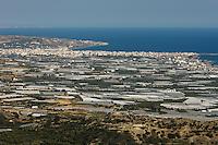 Greenhouses near Lerapetra, Crete