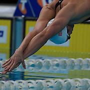 Eamon Sullivan in the 50m freestyle semi finals  during the Australian Swimming Championships and Selection Trials for the XIII Fina World Championships held at Sydney Olympic Park Aquatic Centre, Sydney, Australia on March 21, 2009. Photo Tim Clayton