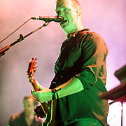 "COLUMBIA, MD - July 17th, 2014 - Josh Homme of Queens of the Stone Age performs at Merriweather Post Pavilion. The band's 2013 album, ""…Like Clockwork,"" was the group's first album to top the US Billboard 200 album charts. (Photo by Kyle Gustafson / For The Washington Post)"