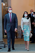031521 Spanish Royals Attend the delivery of the 9th 'Honorary Ambassadors of the Spain Brand''