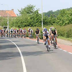 27-05-2016: Wielrennen: Boels Rental Classic: Valkenburg  <br />VALKENBURG (NED) wielrennen<br />De finse kampioen Lepisto leid het peloton