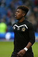 Football - 2016 / 2017 FA Cup - Third Round: Brighton and Hove Albion vs. MK Dons<br /> <br /> Brandon Thomas-Asante of MK Dons at the Amex Stadium Brighton<br /> <br /> Colorsport/Shaun Boggust