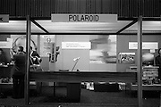 09/04/1964<br /> 04/09/1964<br /> 09 April 1964<br /> Photographic equipment company stands at the Photography Fair at the Intercontinental Hotel, Dublin. The Polaroid stand.