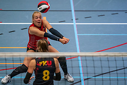 Rianne Stok #1 of Utrecht in action in the first Topdivision match between Booleans/ VV Utrecht - SOMAS/Activia on September 19, 2020 in Utrecht.
