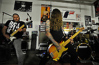 Worship fills the space with sound. In a well-attended, all-ages music event organized by Salinas' own In Your Face Productions, five area metal bands played their hearts out on Saturday night at the Rock Boxing Gym on East Alisal Street.
