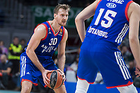 Anadolu Efes Zoran Dragic during Turkish Airlines Euroleague match between Real Madrid and Anadolu Efes at Wizink Center in Madrid, Spain. January 25, 2018. (ALTERPHOTOS/Borja B.Hojas)
