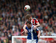 Jack O'Connell of Sheffield Utd in action during the English League One match at  Bramall Lane Stadium, Sheffield. Picture date: April 30th 2017. Pic credit should read: Simon Bellis/Sportimage
