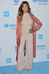 Laverne Cox arrives at We Day California 2017 held at The Forum in Inglewood, CA on Thursday, April 27, 2017. (Photo By Sthanlee B. Mirador) *** Please Use Credit from Credit Field ***