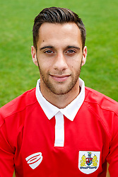 Sam Baldock poses for a head shot - Photo mandatory by-line: Rogan Thomson/JMP - 07966 386802 - 04/08/2014 - SPORT - FOOTBALL - BCFC Training Ground, Failand - Bristol City, 2014/15 Team Photos.