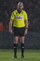 Referee Alexandre Ruiz<br /> <br /> Photographer Bob Bradford/CameraSport<br /> <br /> European Rugby Heineken Champions Cup Group C - Harlequins v Ulster - Friday 13th December 2019 - Twickenham Stoop - London<br /> <br /> World Copyright © 2019 CameraSport. All rights reserved. 43 Linden Ave. Countesthorpe. Leicester. England. LE8 5PG - Tel: +44 (0) 116 277 4147 - admin@camerasport.com - www.camerasport.com