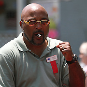 Boxer Buddy McGirt as seen in the parade during the 23rd Annual International Boxing Hall of Fame Induction ceremony at the International Boxing Hall of Fame on Sunday, June 10, 2012 in Canastota, NY. (AP Photo/Alex Menendez)