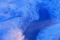 Winter coastline, Troms county, Norway