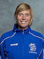 UTRECHT -  Carlijn de Jonge (fysio) , Kampong Heren I,  seizoen 2012-2013. FOTO KOEN SUYK