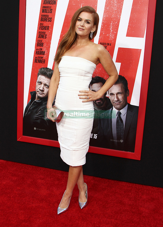TAG Premiere at The Regency Village Theatre in Westwood, California on 6/7/18. 07 Jun 2018 Pictured: Isla Fisher. Photo credit: River / MEGA TheMegaAgency.com +1 888 505 6342