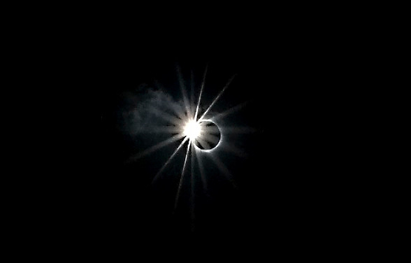 Total Solar Eclipse on July 11, 2010 from the South Pacific